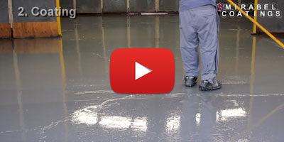 Epoxy Warehouse Coating