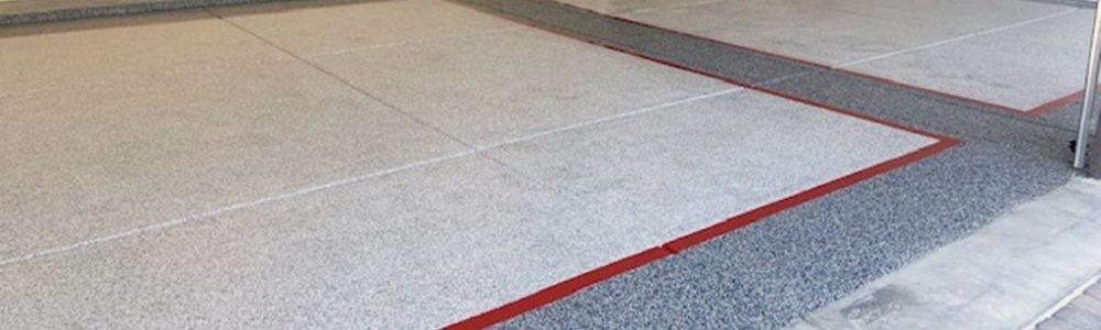 epoxy garage floor mesa